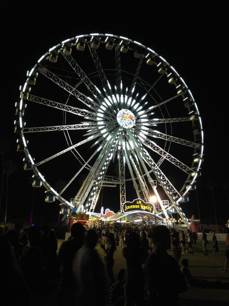 Ferris wheel at Coachella