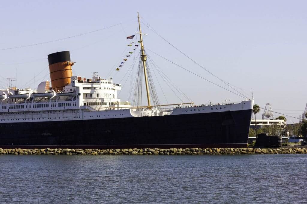 The Queen Mary in Long Beach