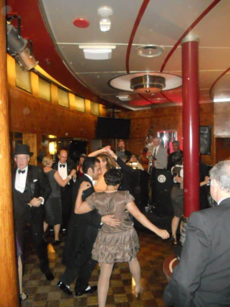 swing dancing on the Queen Mary