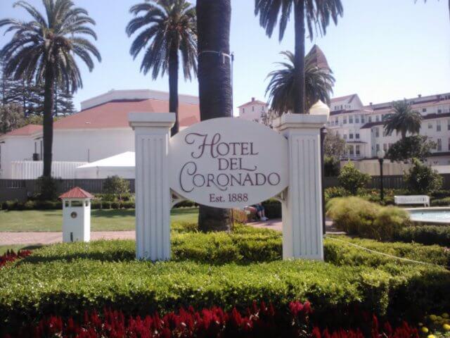 Hotel Del Coronado on Coronado Island