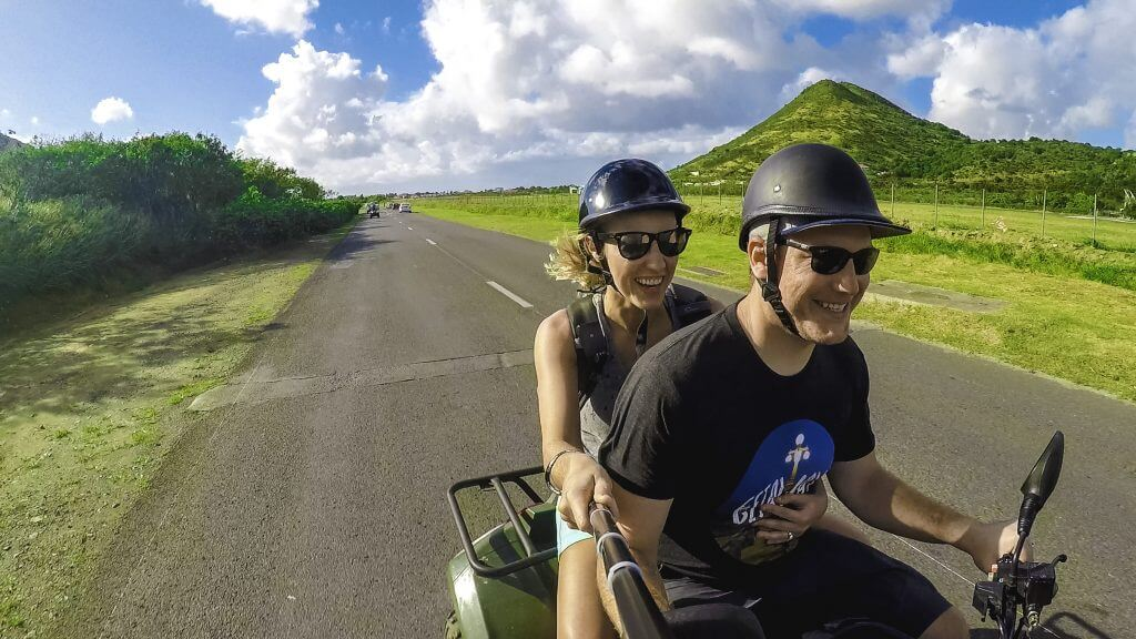 ATVing through St Maarten