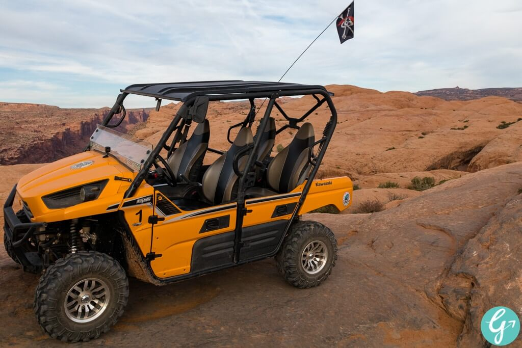 UTV we used to conquer the Hell's Revenge Trail