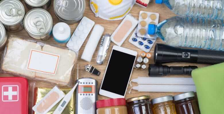 Objects useful in RV emergency situations and natural disasters